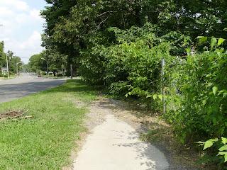 Nashville sidewalk