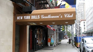 Titty Bar at Ground Zero, New York Dolls