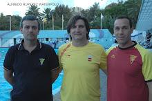 Con Antonio Aparicio y Hugo Durán