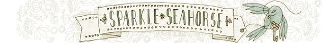 Sparkle Seahorse Smiling