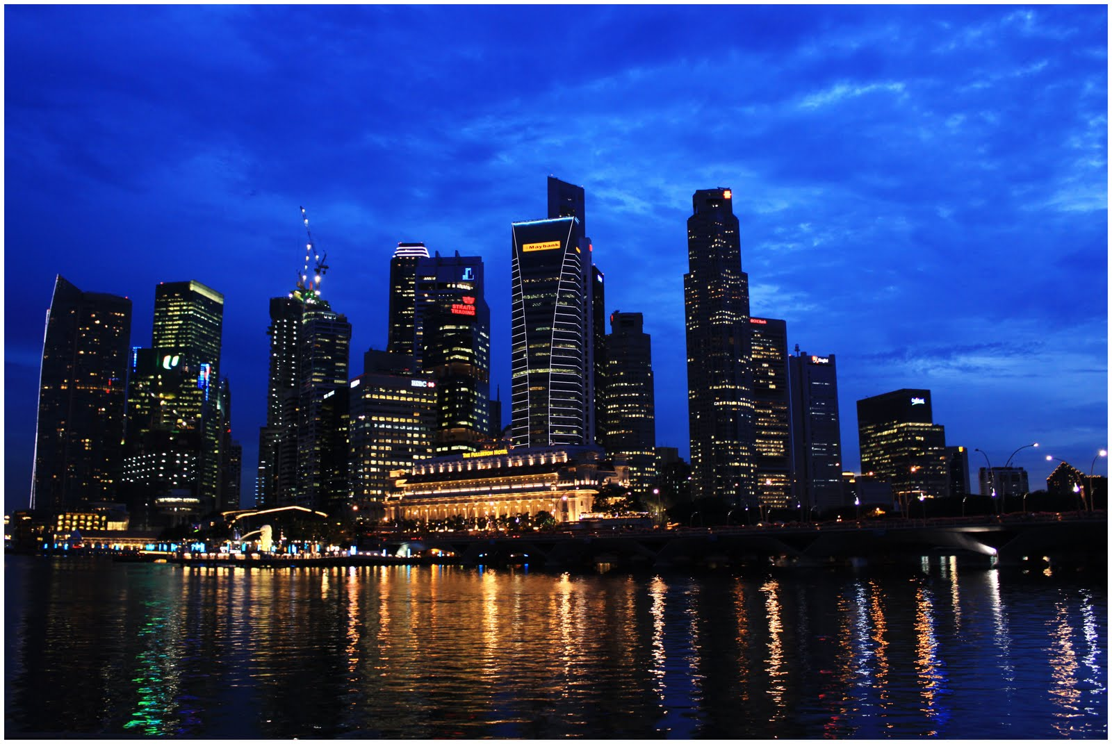 Dennis Pineda Salao: Singapore Skyline