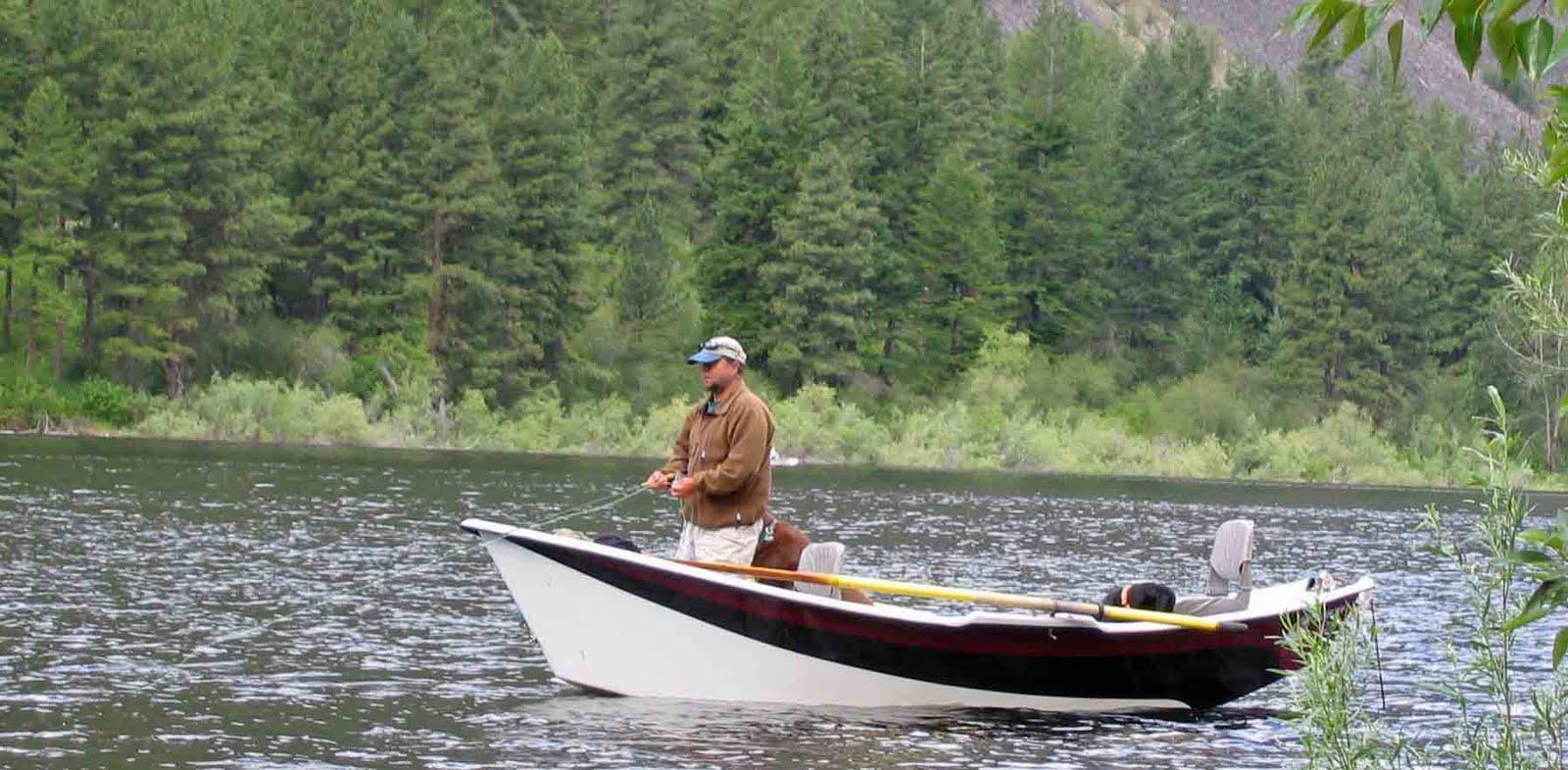 Usbackroads blue lake loomis washington for Drift boat fishing
