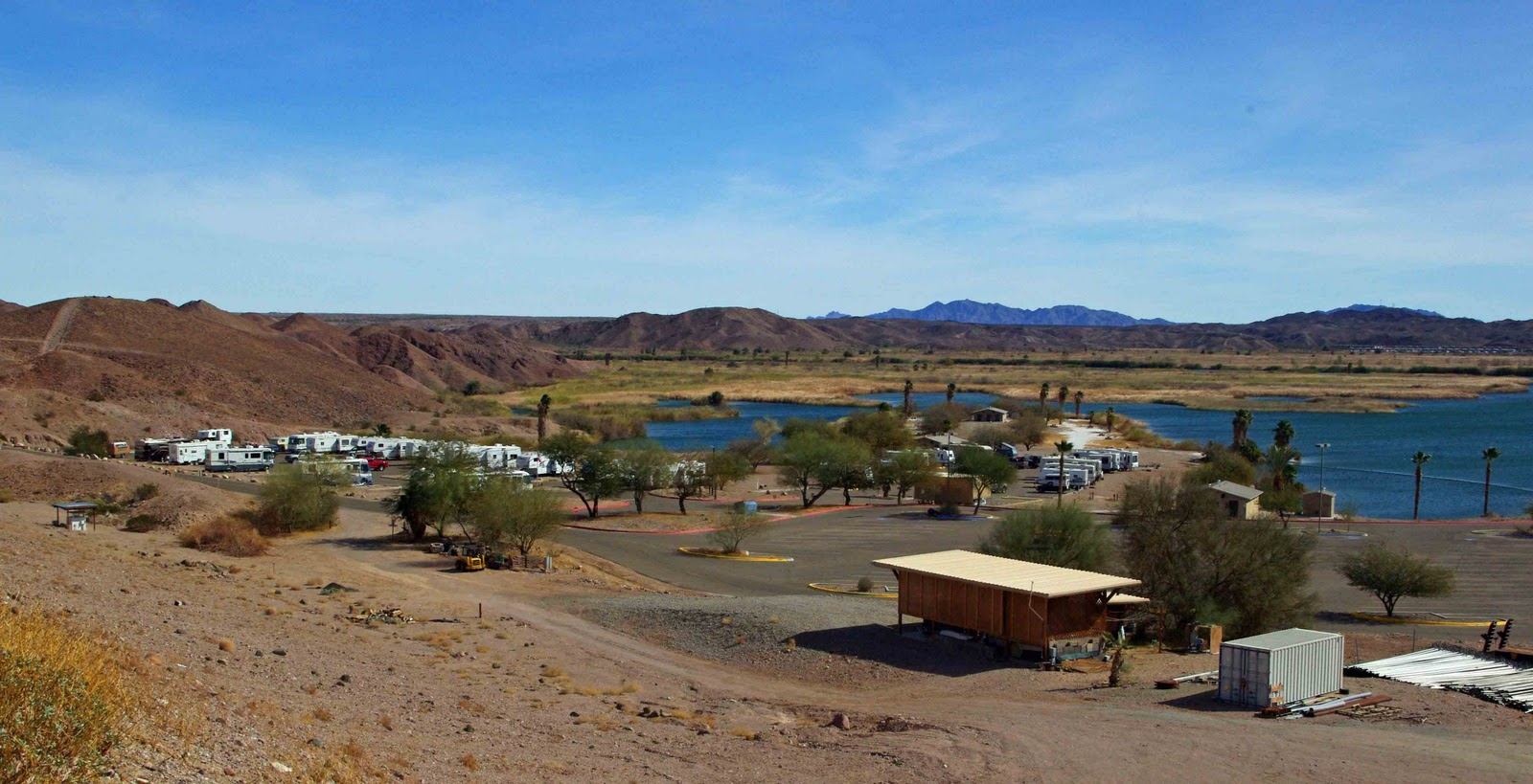 Usbackroads squaw lake campground imperial dam for Camping and fishing in arizona