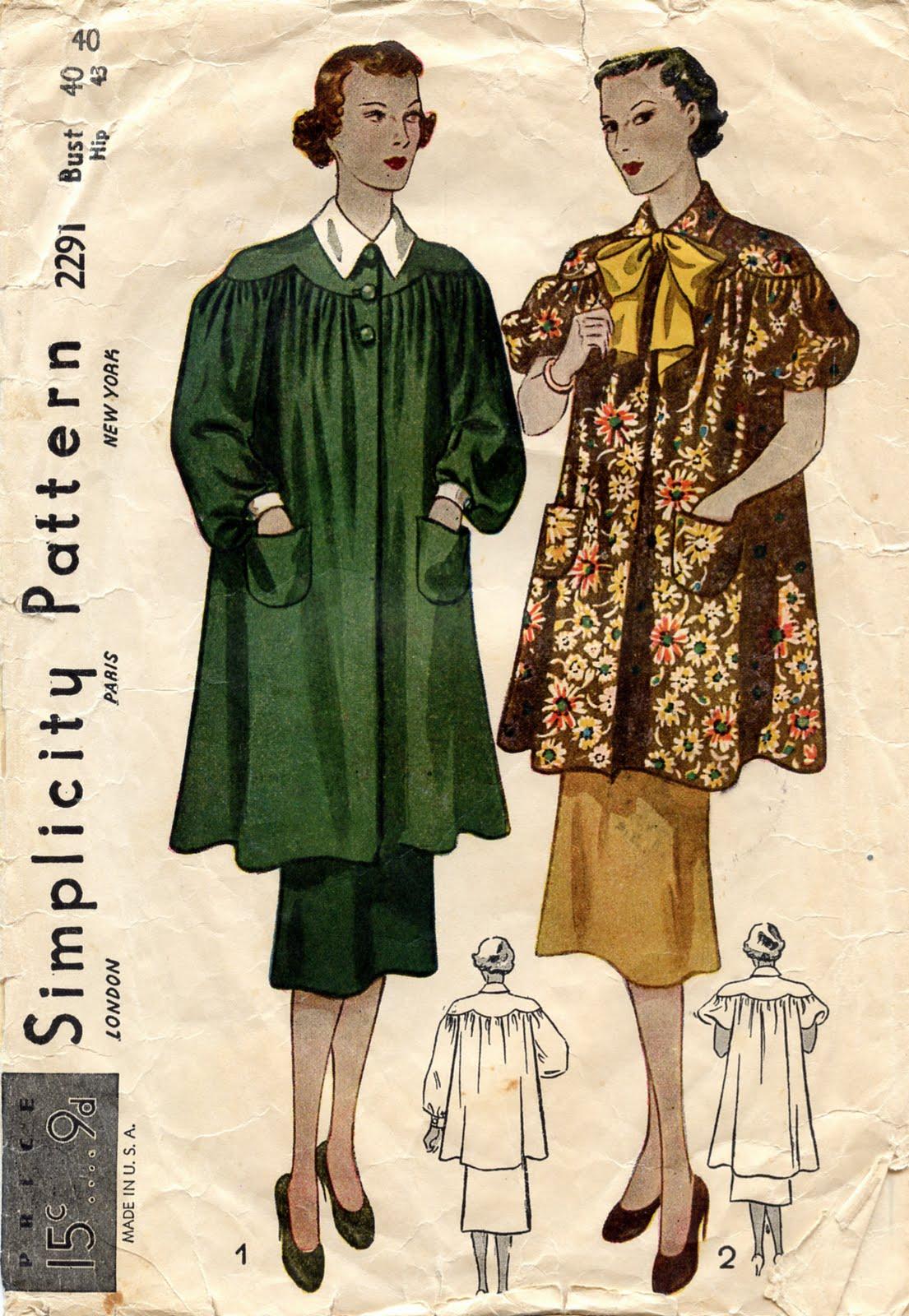 Unsung sewing patterns april 2010 1930s jeuxipadfo Choice Image