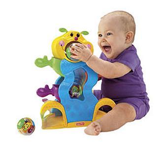 Nossa rea baby conta com esse brinquedo fisher price roll a rounds inseto divertido mattel - Juguetes para ninos 10 meses ...