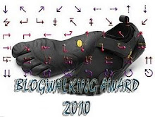 : : BLOGWALKING AWARD : :