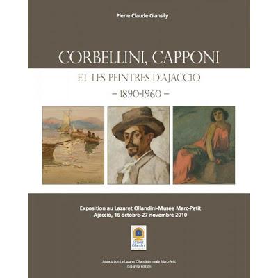Affiche expo Corbellini, Capponi et les peintres d'Ajaccio