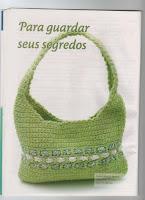 зеленая сумка связаная крючком