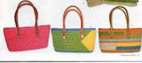 летние сумки крючком