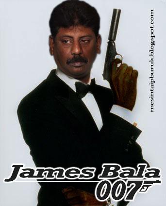 HOT...!!!! Bala pegang watak James Bond!