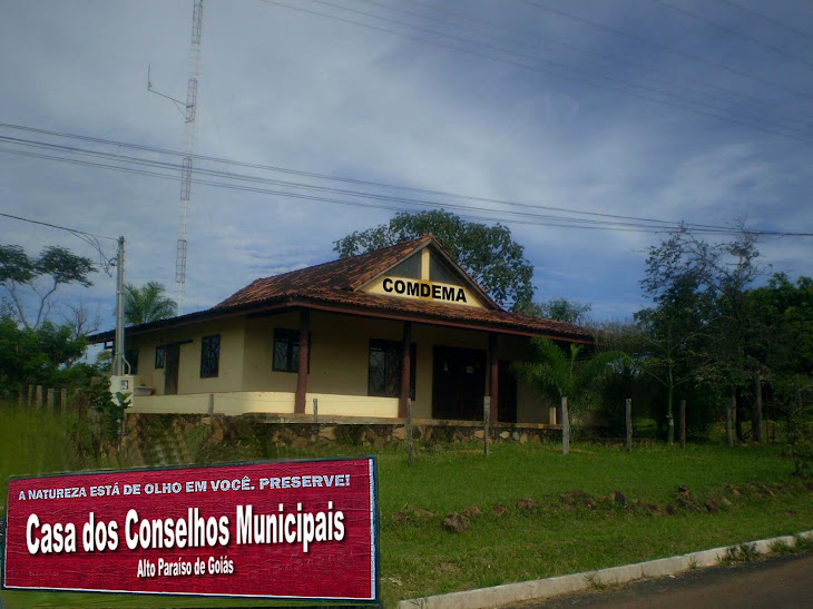 CASA DOS CONSELHOS MUNICIPAIS