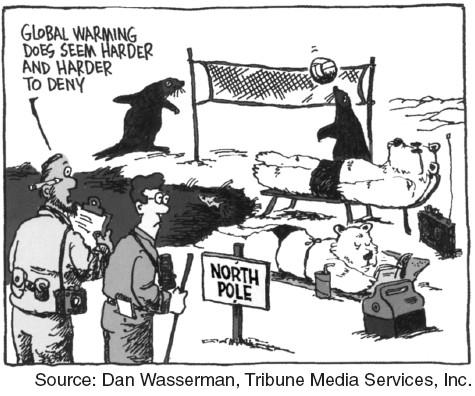 Global Warming Political Cartoon