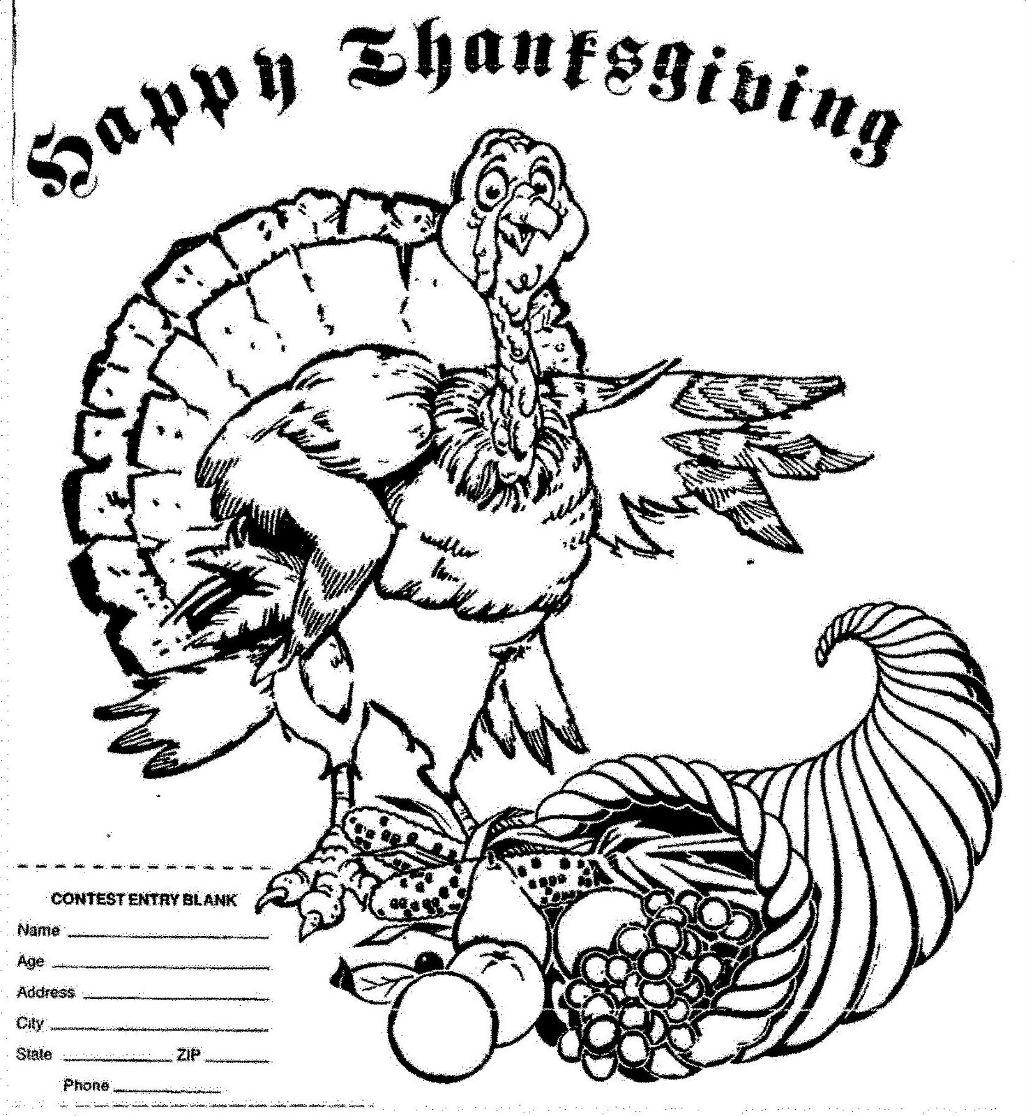 mostly paper dolls happy thanksgiving coloring contest
