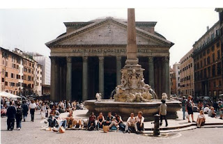 Pantheon  Rome City  Italy, One of Tourist Attraction to Tourist of The World in Rome, country of Italy