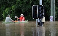 Banjir Brisbane Australia
