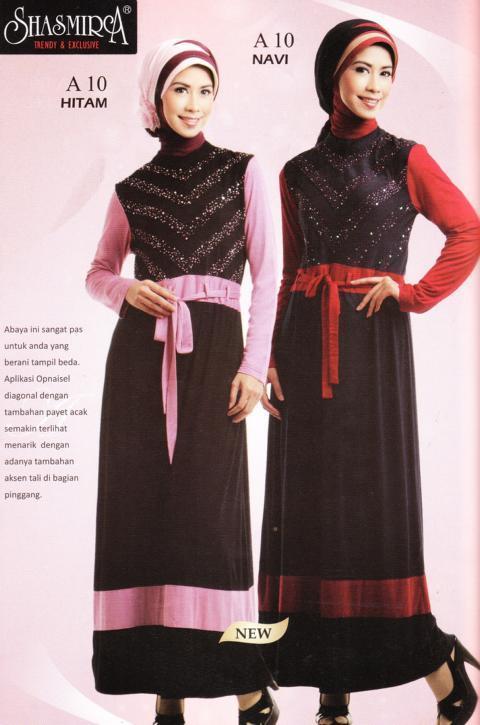 Model Baju Muslim Terbaru 2011 Perkembangan Trend Desain Busana Muslim