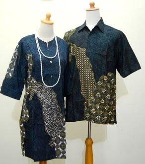 Koleksi Baju Batik Modern Busana Batik Muslim