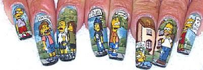 Amazing nail art 1