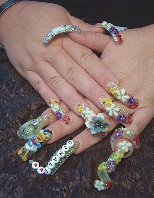 Response to 'Amazing nail art'