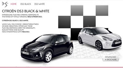 new ds world ds3 black white. Black Bedroom Furniture Sets. Home Design Ideas