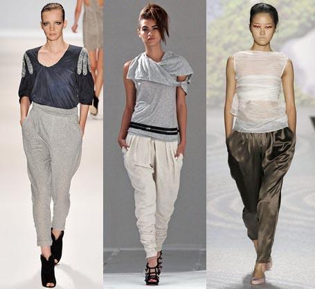 How to wear baggy pants women