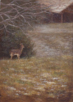 wildlife painting by Lori Levin