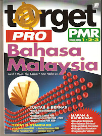 Buku Target Pro BM PMR Terbaharu 2010