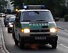 Polizei Polizeiwagen Bulli