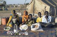 Essen für eine Woche im Tschad