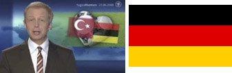 Tagesthemen Deutschlandfahne falsch