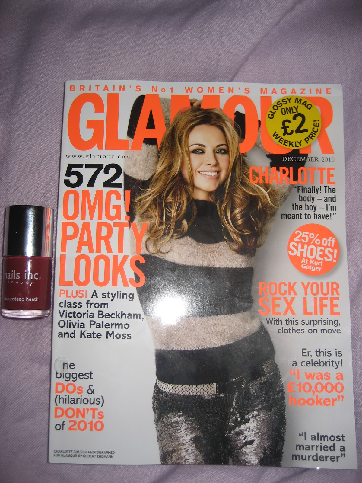 This month\'s magazine freebies | Lovely Girlie Bits - Best Irish ...