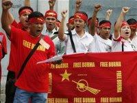 Burma' democracy lovers