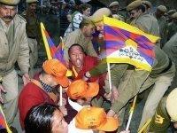 Tibetan marchers arrested