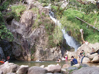 Air Dingin waterfall