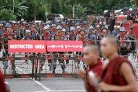 Military barricades