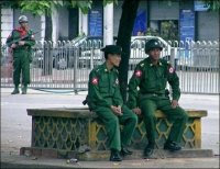 Burmese soldiers
