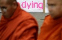 Burmese monks at UN