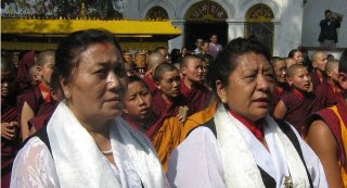 Tibetan Women's Association leaders