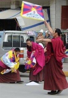 Monks prepare