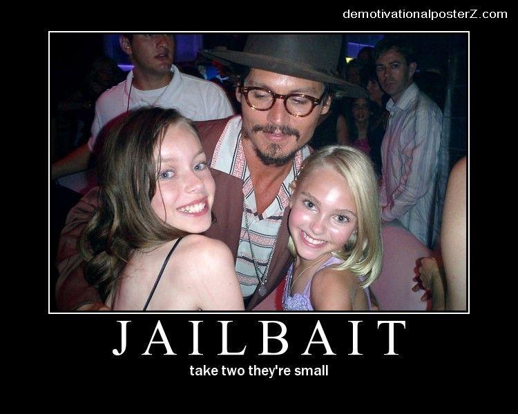 Jailbait Johnny Depp Demotivational