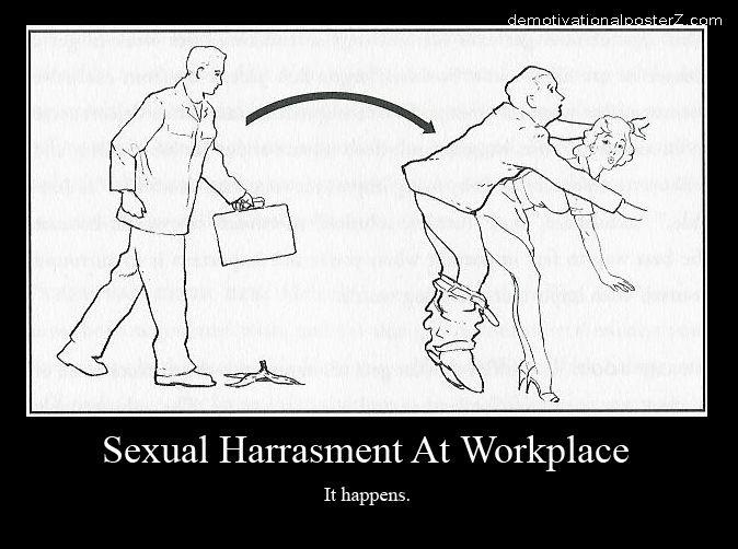 Sexual Harrasment At Workplace