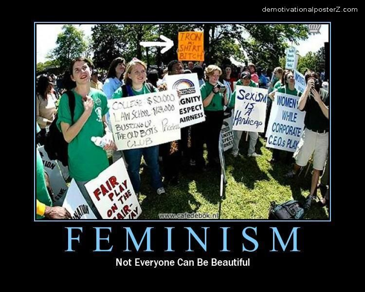 Iron My Shirt Bitch - Feminism protest