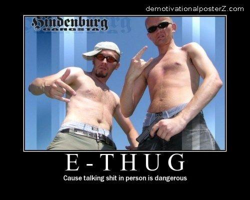 E-thug Poster