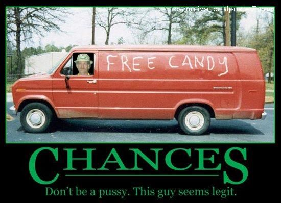 Chances - free candy