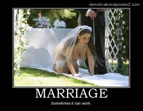 Marriage - sometimes it can work