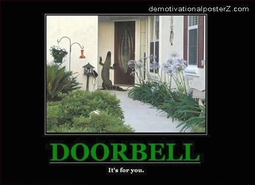Doorbell Aligator