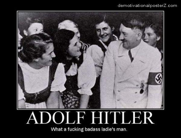 Adolf Hitler - what a ladies' man