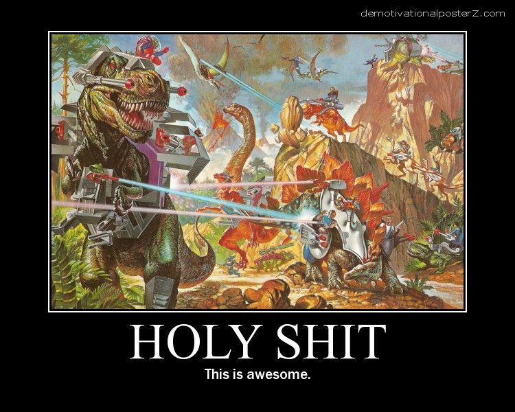 T-Rex Firing Lasers - Awesome