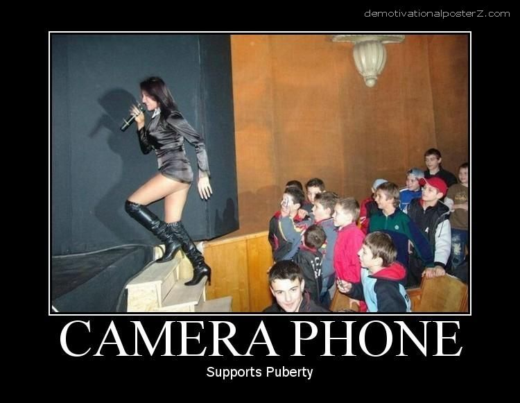 Camera Phone Supports puberty