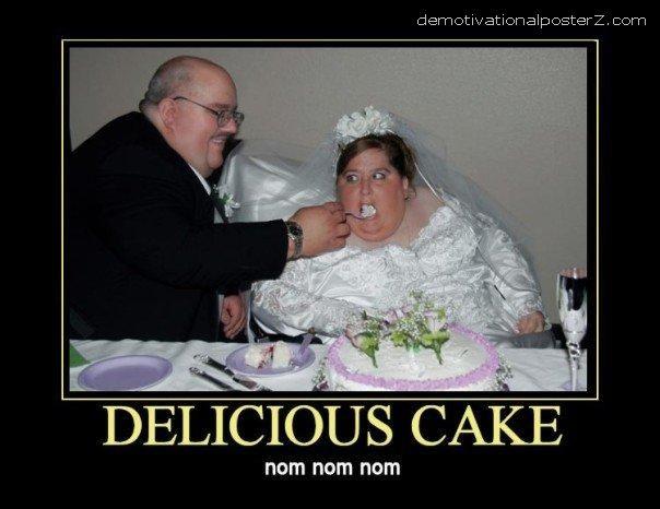 Delicious Cake Nom Nom Nom